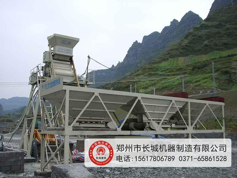 HZS25混凝土攪拌(ban)站(zhan)